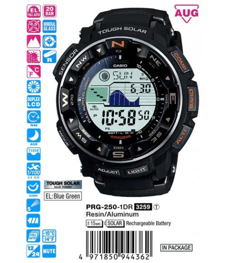 Casio PRG-250-1E