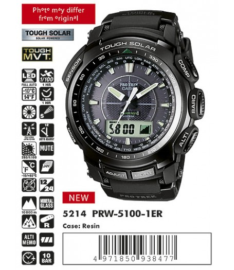 Casio PRW-5100-1E