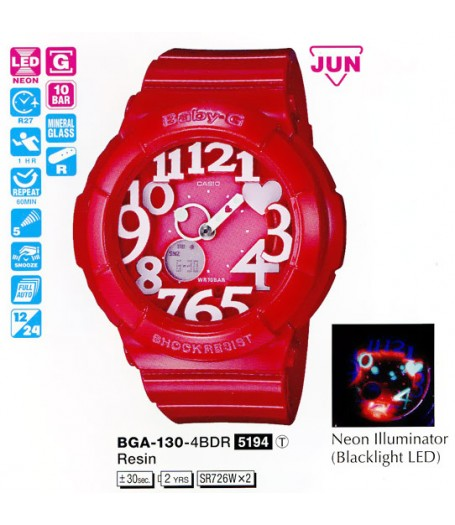 Casio BGA-130-4B