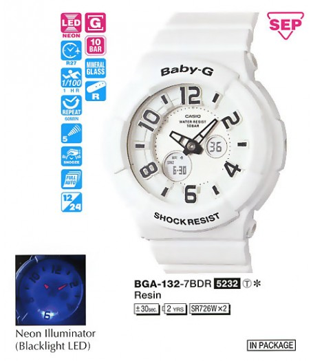 Casio BGA-132-7B