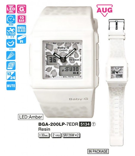 Casio BGA-200LP-7E