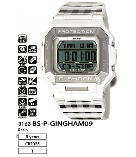 Casio BS-P-GINGHAM09