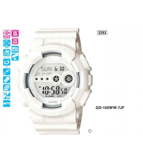 CASIO GD-100WW-7E