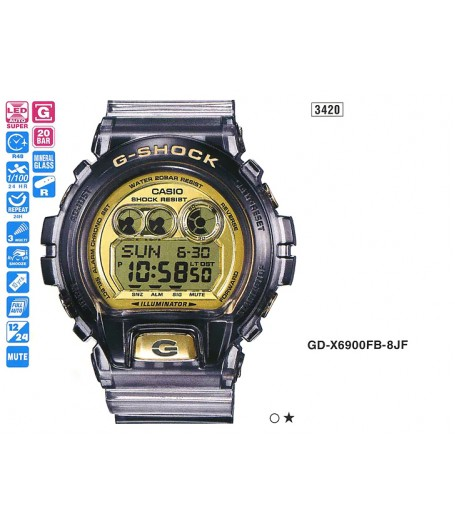 Casio GD-X6900FB-8E